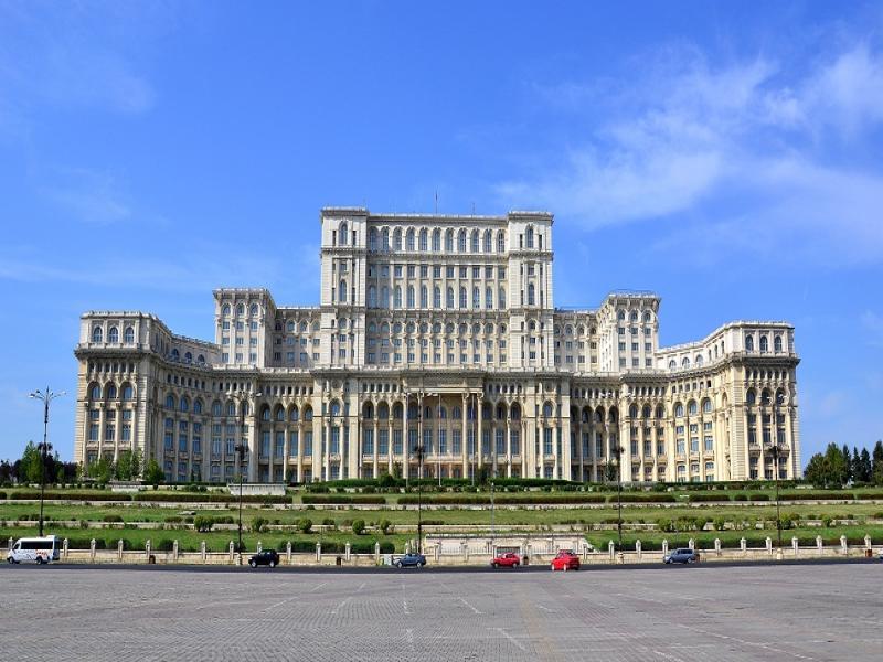 Панорамна обиколка на Букурещ