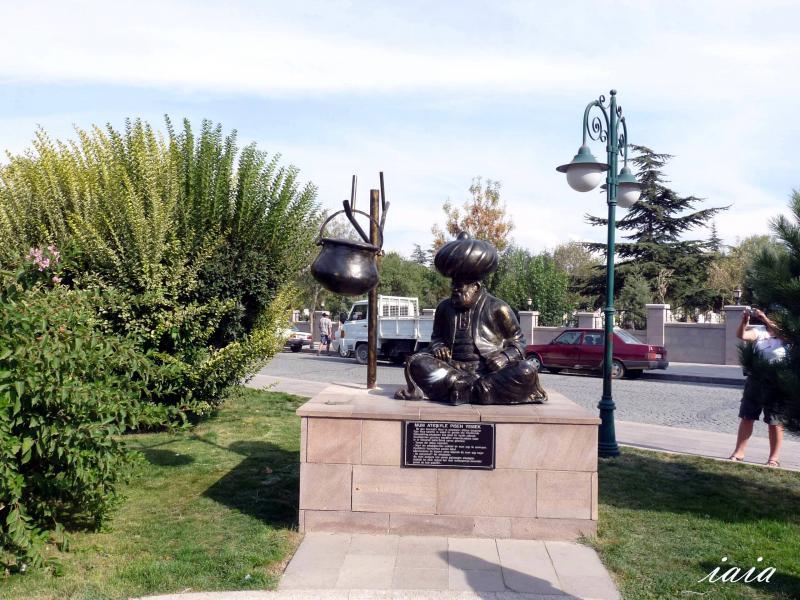 Посещение на гроба на Настрадин Ходжа