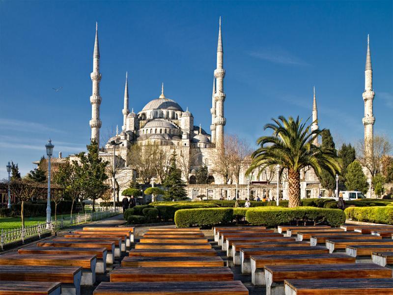 Обзорна обиколка на Истанбул с автобус.