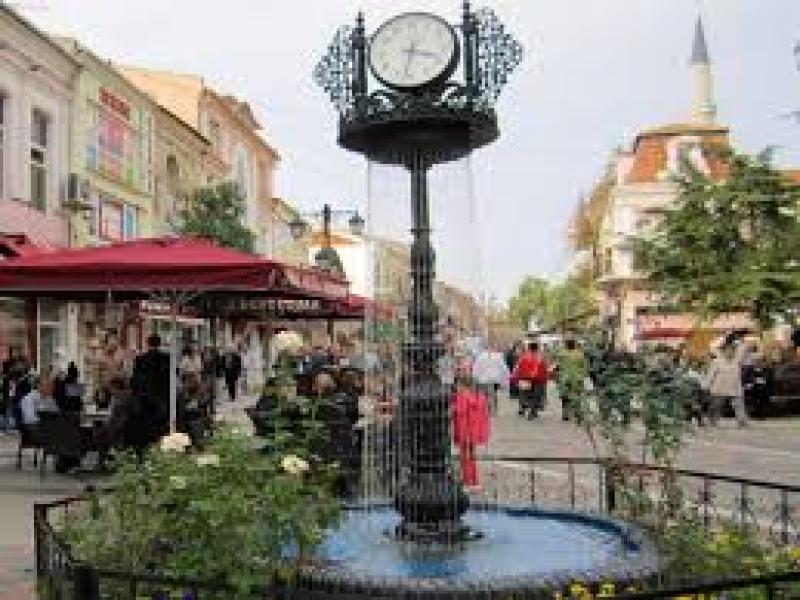 Пешеходна разходка в центъра на град Одрин.