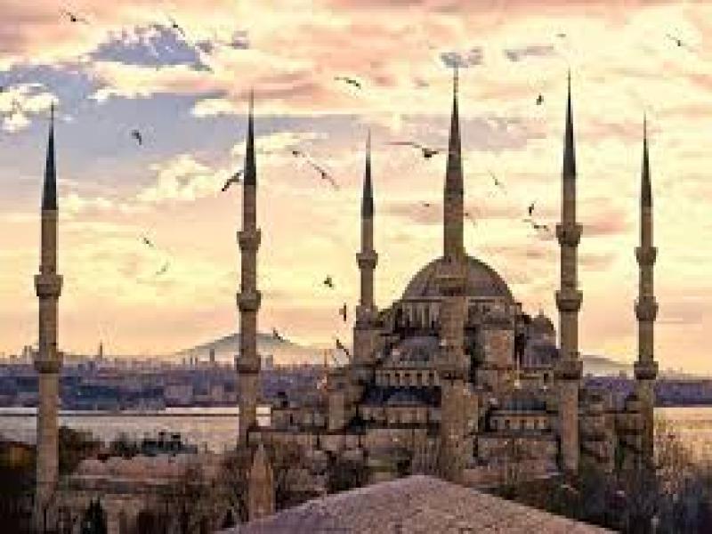 Пешеходна обиколка на Истанбул.