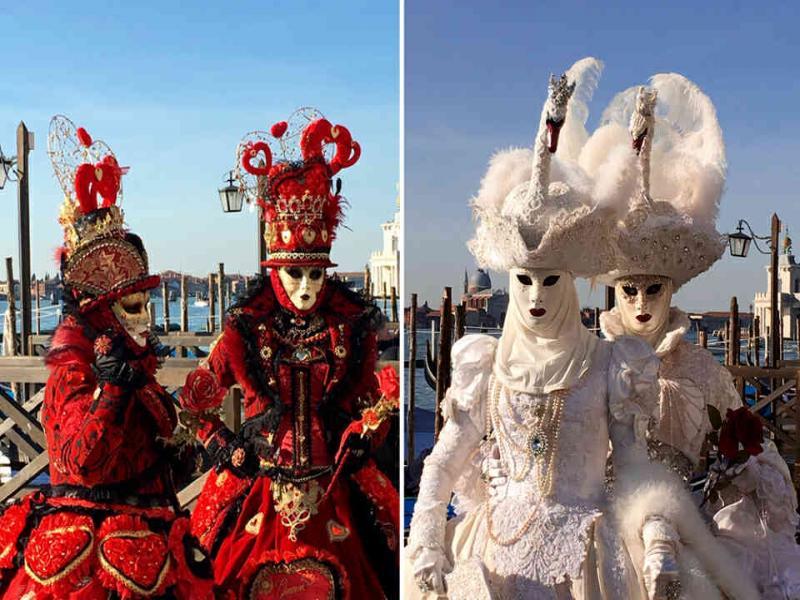Венеция и участие в карнавалните тържества