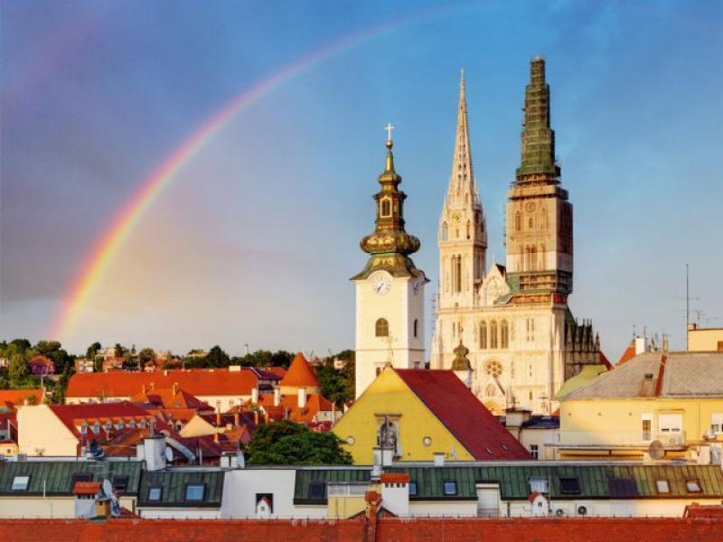 Панорамна обиколка на Загреб
