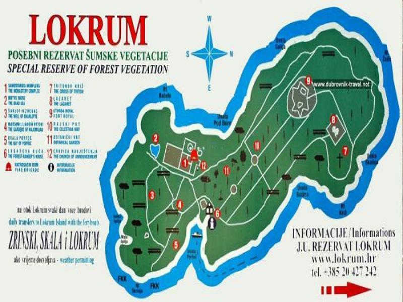Разходка с Кораб  до о-в  Локрум.