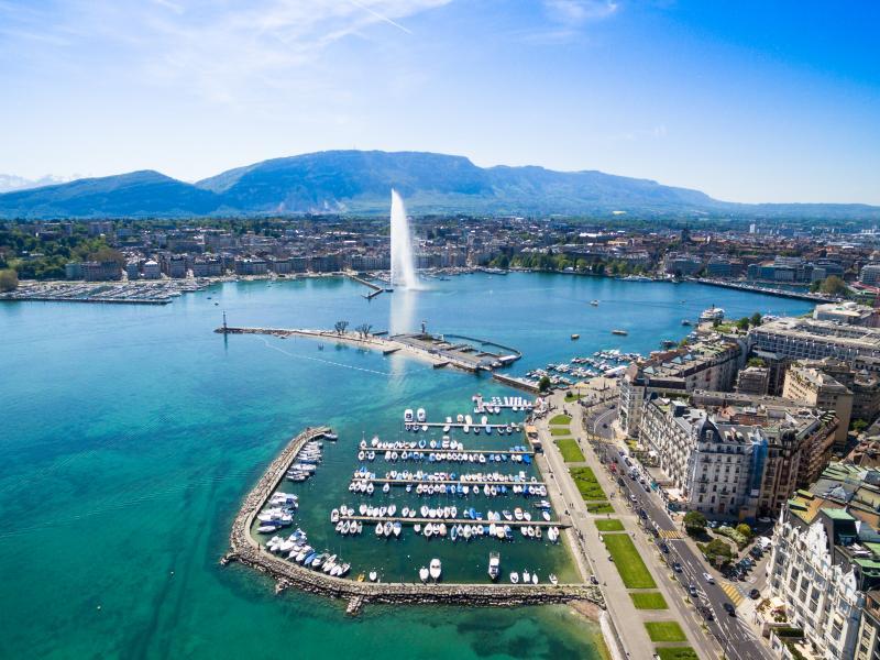 Панорама на Швейцария ( Женева, Лозана, Веве, Монтрьо )  2019