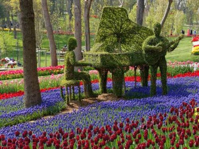 Посещение на парка на лалетата – Емирган
