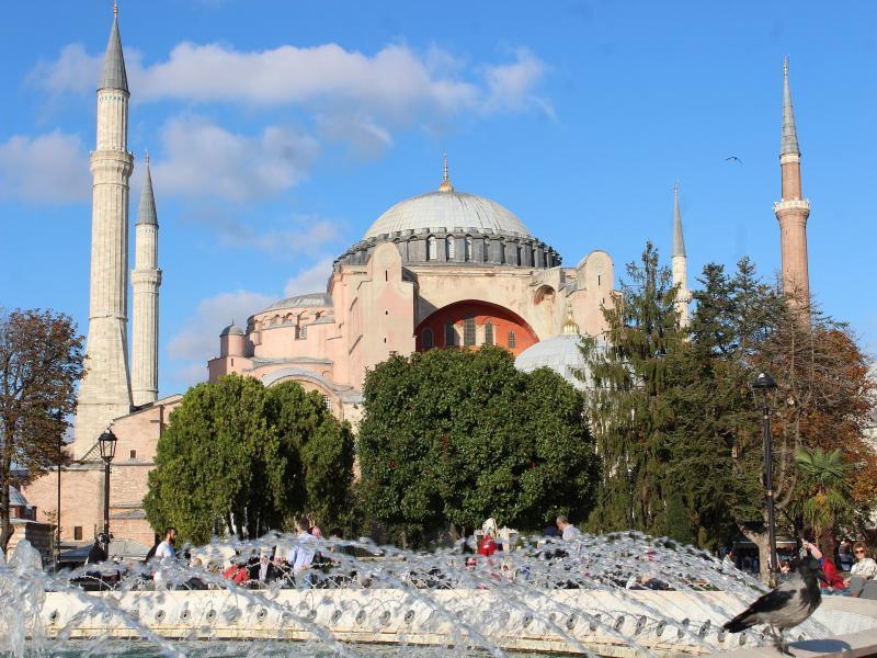 Посещение на църквата-музей Света София с екскурзовод на български език