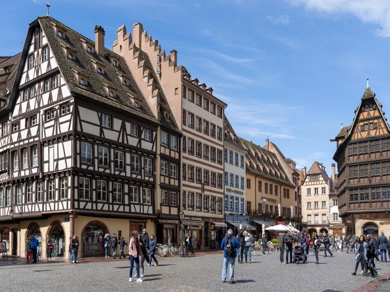 Пешеходна разходка в Страсбург
