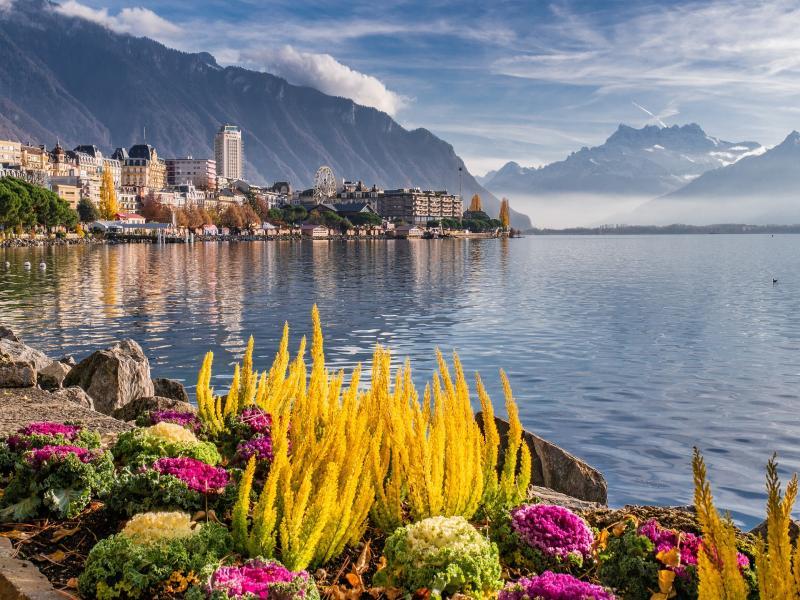 Екскурзия Швейцарска ривиера