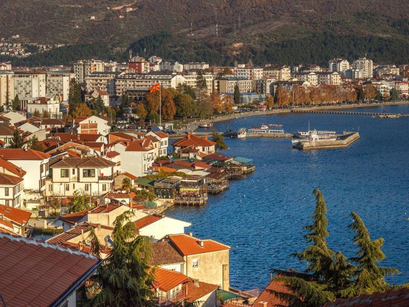 Посещение на град Охрид на връщане за фотопауза и обяд