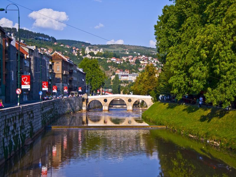 Пешеходен тур на Сараево