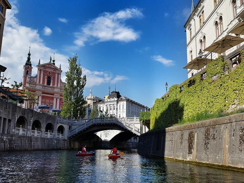 Пешеходна туристическа  програма на Любляна