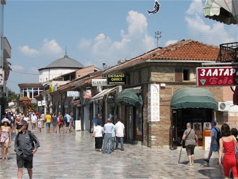 Пешеходна разходка из стария Охрид