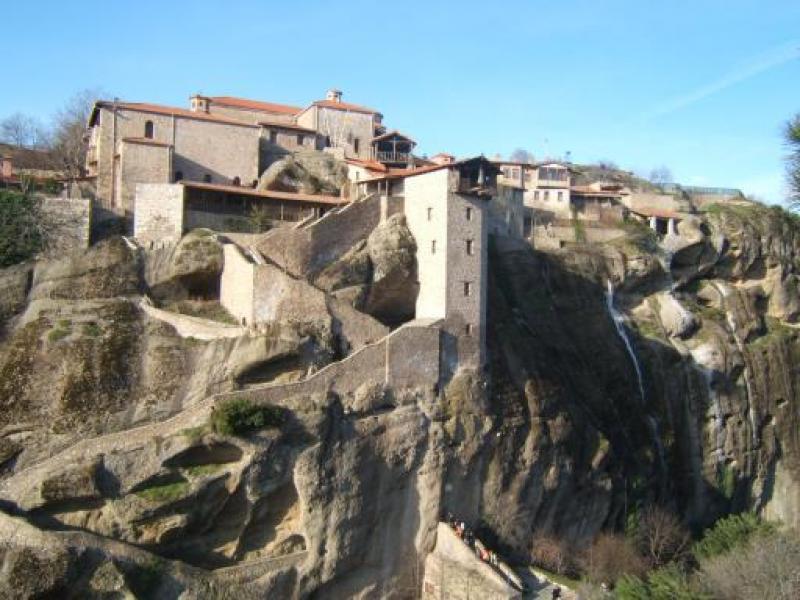 Скалните манастири на Метеора - Осмото чудо на света