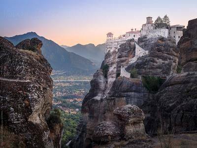 Скалните манастири на Метеора 2019