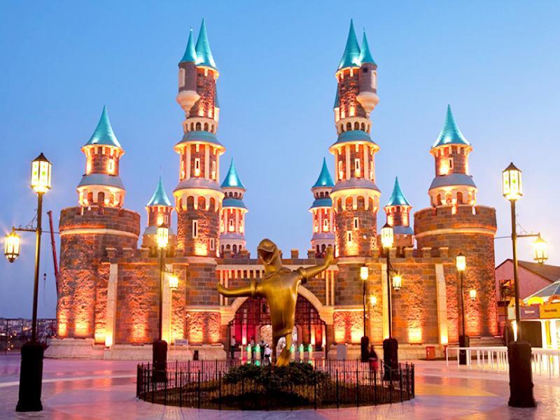 За деня на детето до увеселителен парк Vialand Истанбул 2019