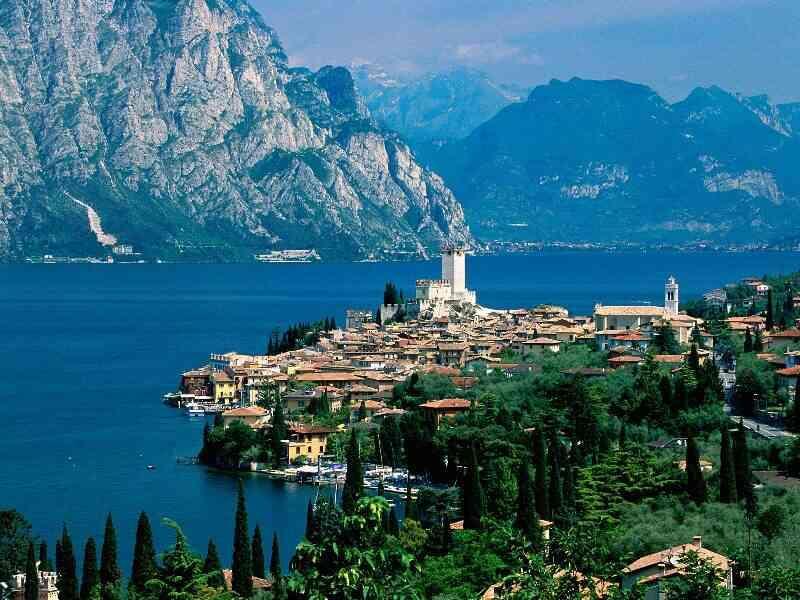 Най- красивите Италиански езера - вариант 1