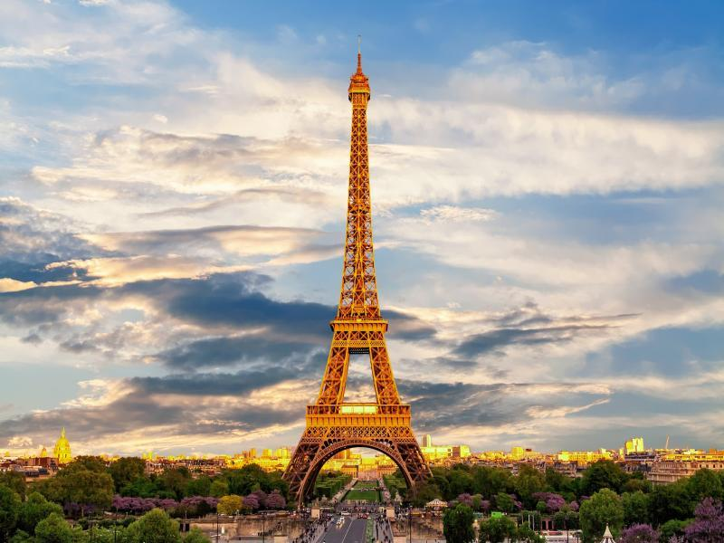 Париж- шедьоврите на Европа 2020, вариант 1 с нощен преход