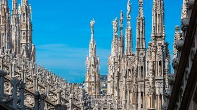 Милано и Алпийски езера през септември