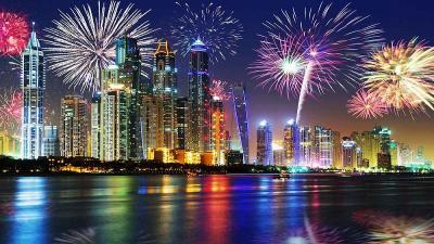 Нова година в Дубай 30.12.2018