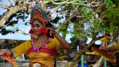 Нова година на остров Бали