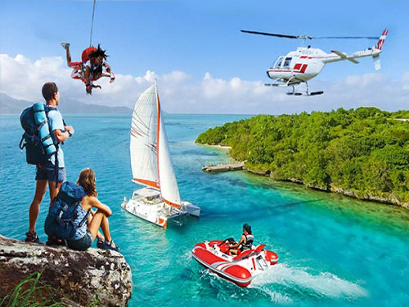 Нова година на остров Мавриций 27.12-05.01