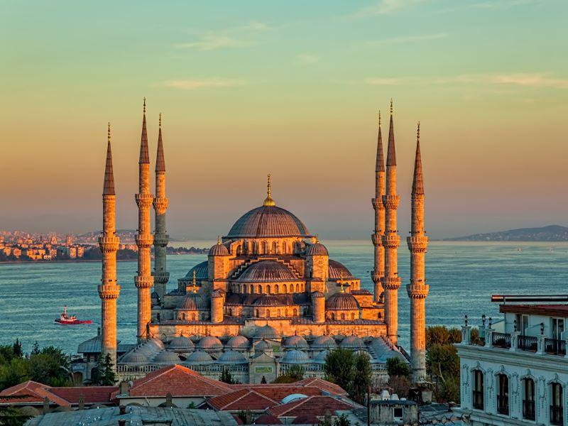 Историята на Синята джамия в Истанбул