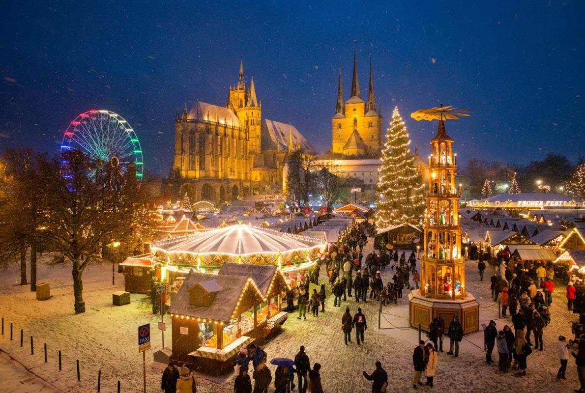 Най-красивите Коледни пазари по света