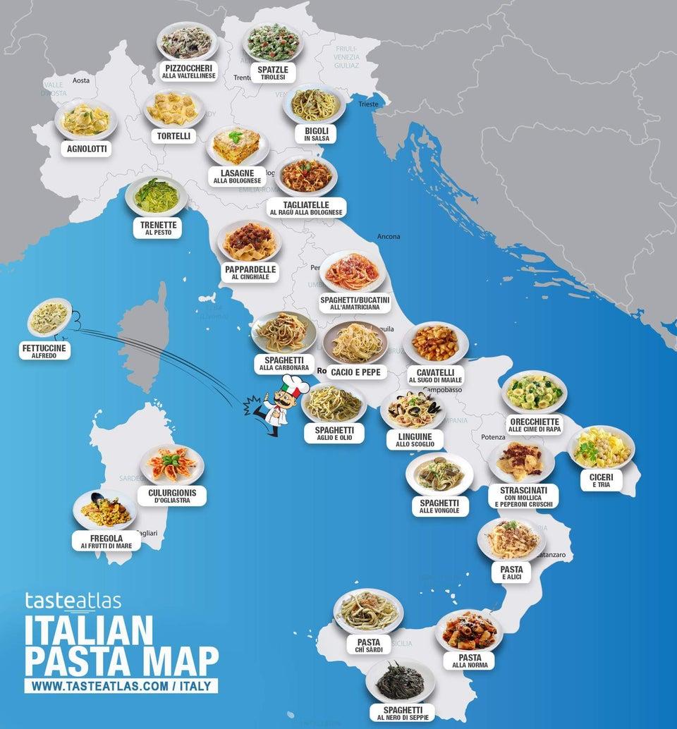 Красотата на италианската кухня