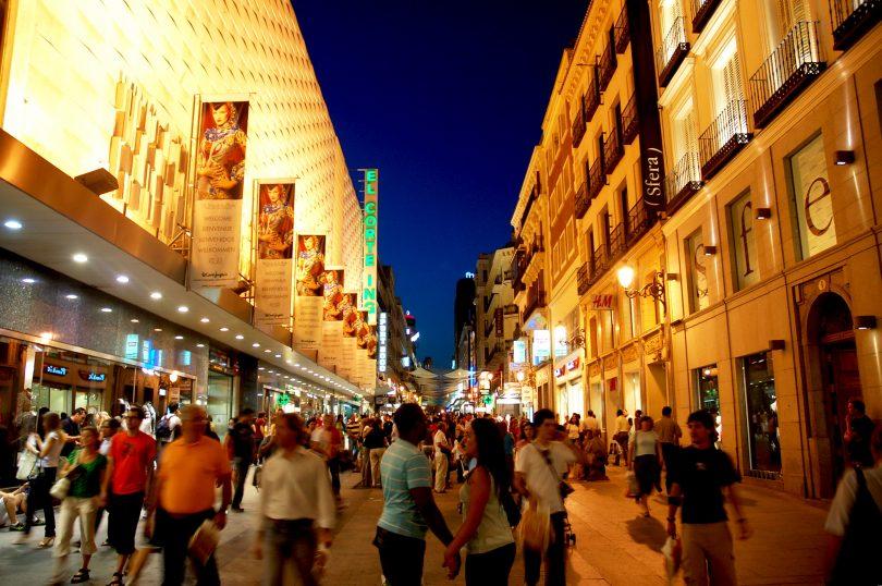 Най-добрите места за шопинг в Мадрид