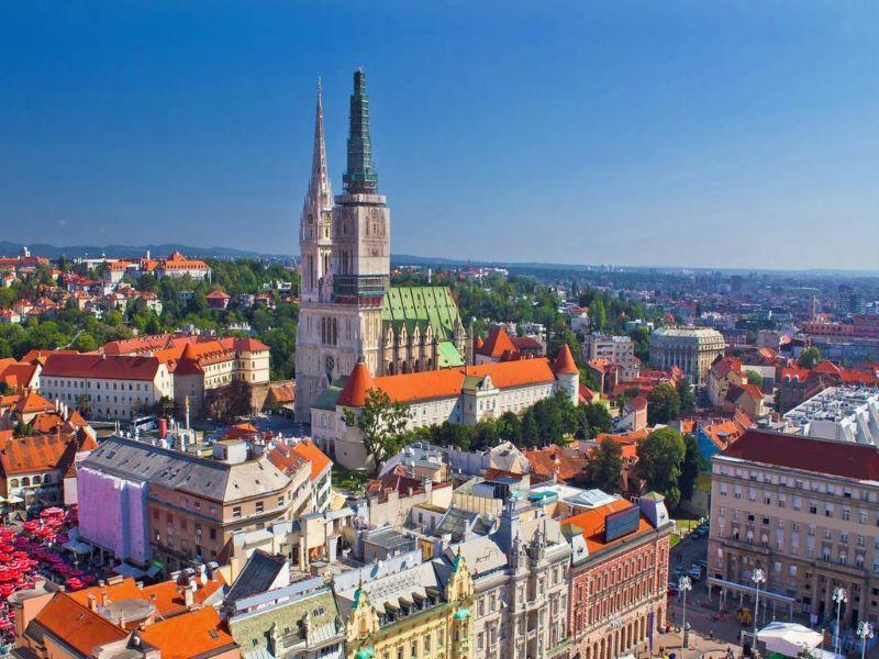 Туристическа обиколка в Загреб