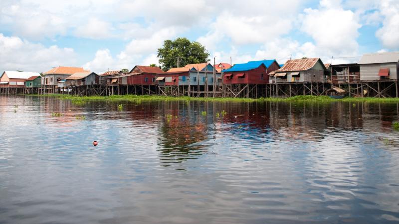 Тур Плаващите селища на Камбоджа