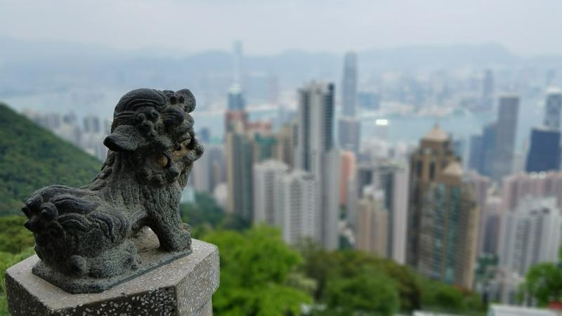 Сити тур с кристалния автобус из Хонг Конг и Тур Нощната красота на Хонг Конг