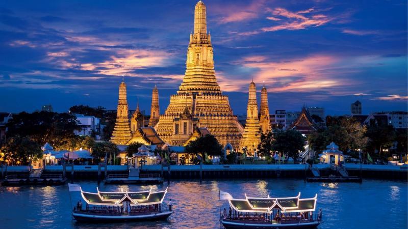 Традиционна Тайландска Вечеря - Круиз по река Чао Прая