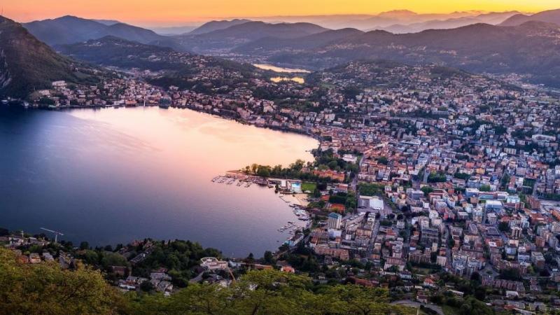 Туристическа програма на езерото Лугано и езерото Комо.