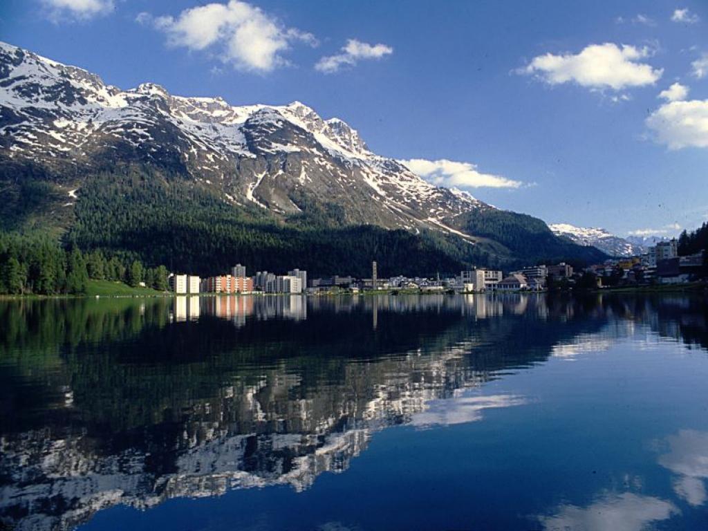 Езерата на Алпите и Сейнт Мориц