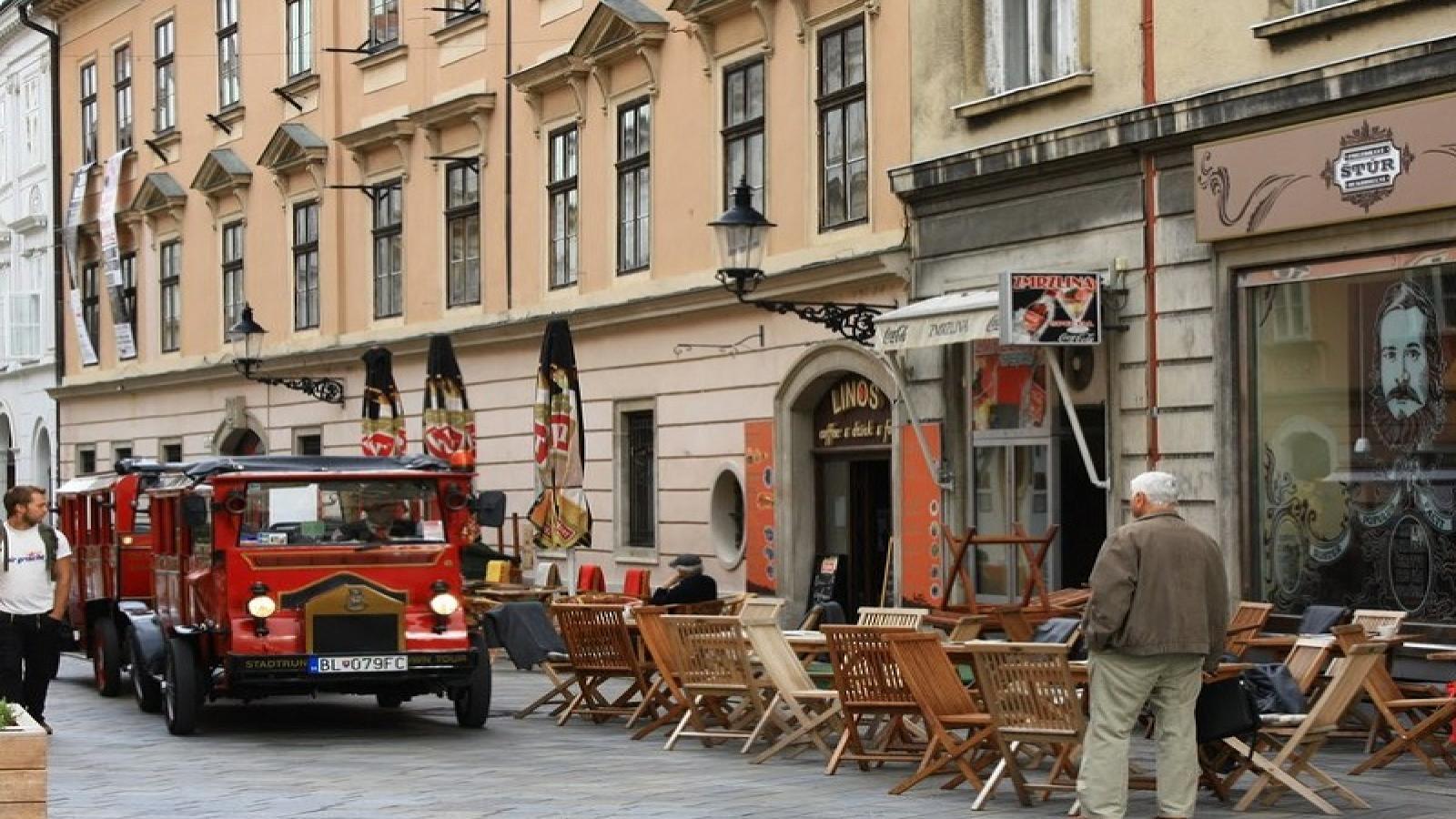 Будапеща, Виена и Братислава
