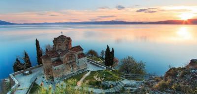 Охридското езеро и каньона Матка
