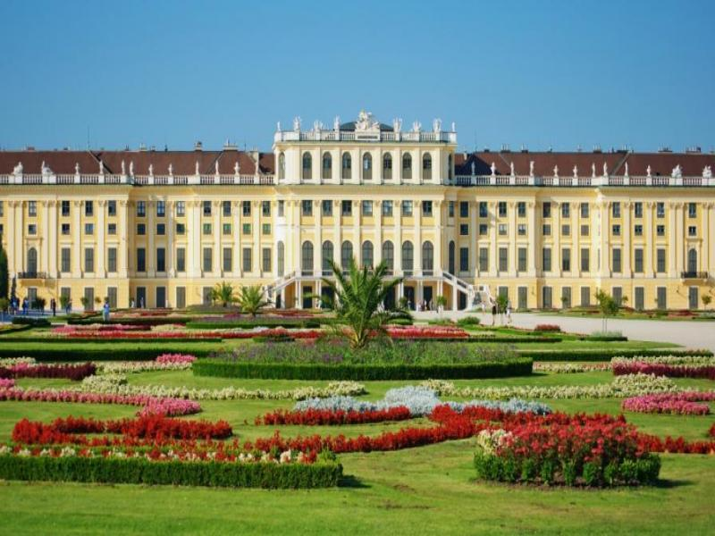 Посещение на двореца Шьонбрун
