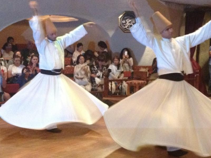 Автентичен ритуал Сема в Керван Сарай