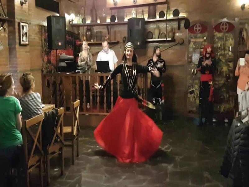Фолклорна грузинска вечер в Тбилиси с програма