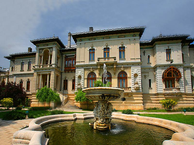 Посещение на двореца Котрочени