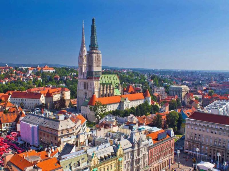 Пешеходна обиколка на Загреб