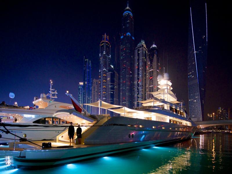 ВИП Дубай с яхта
