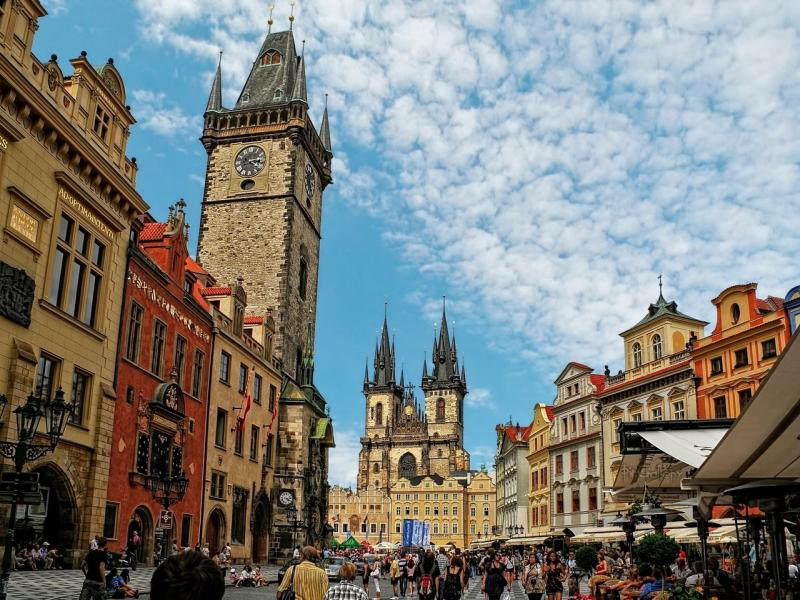 Пешеходна обиколка на Прага