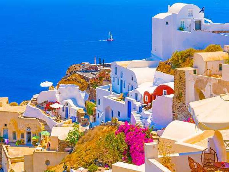 Великден на остров Санторини и Атина