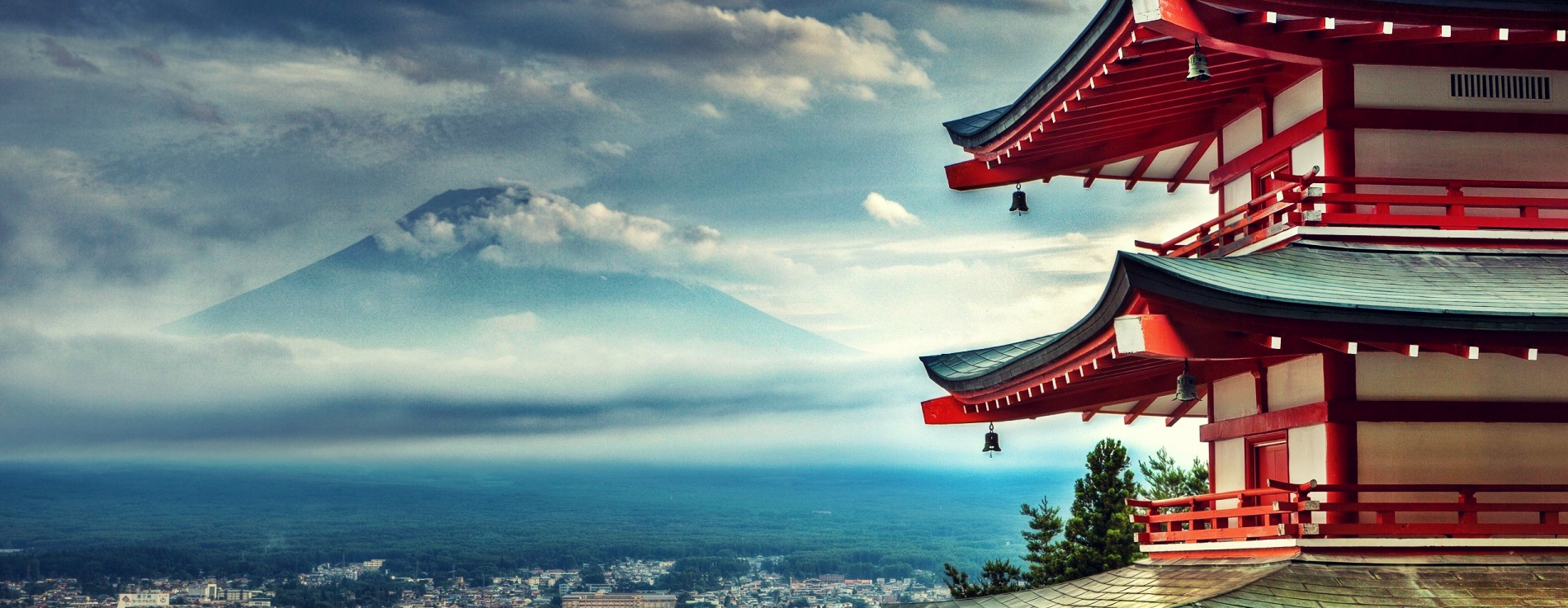 Япония - цъфтежа на вишните