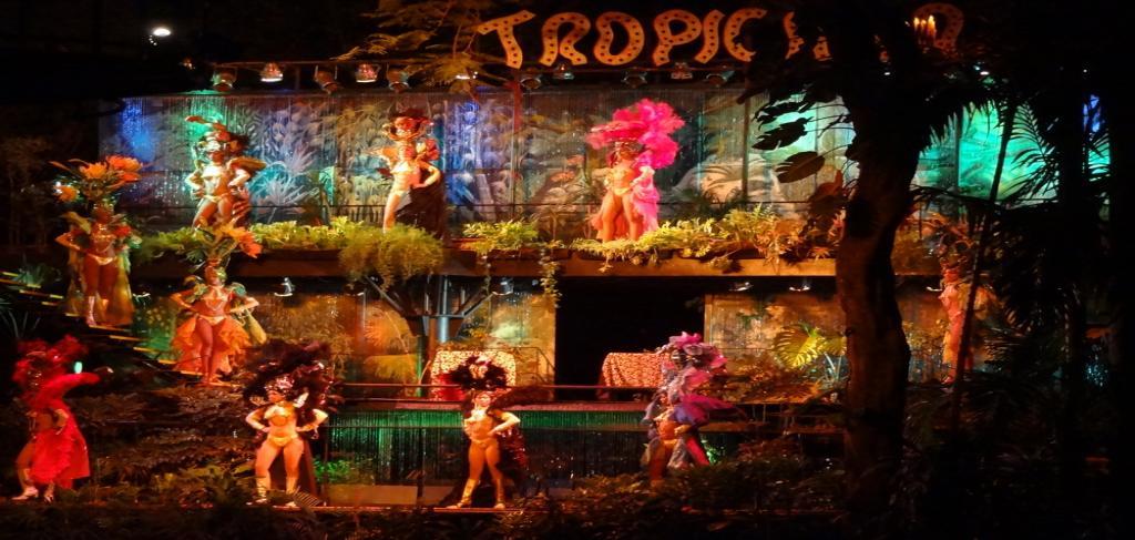 Tropicana show в Хавана