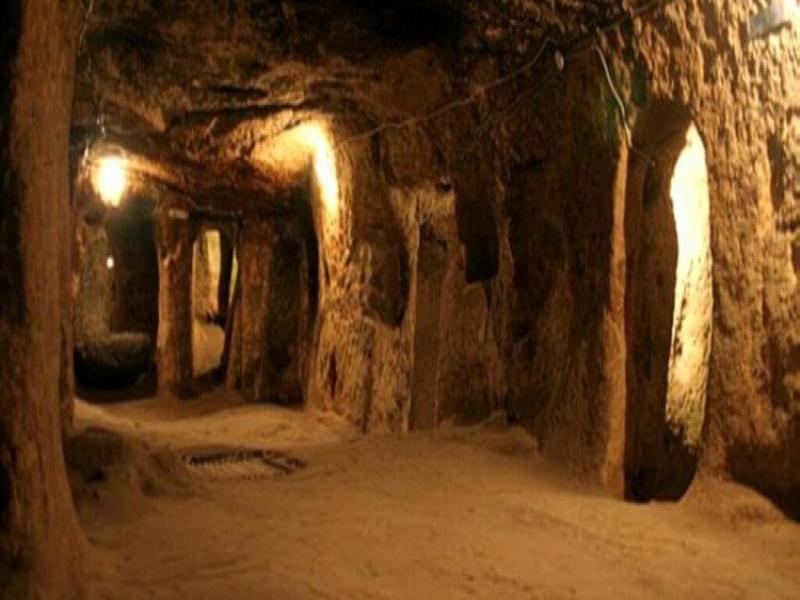 Посещение на подземен град Йозконак