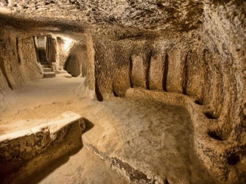 Посещение на подземен град Каймаклъ